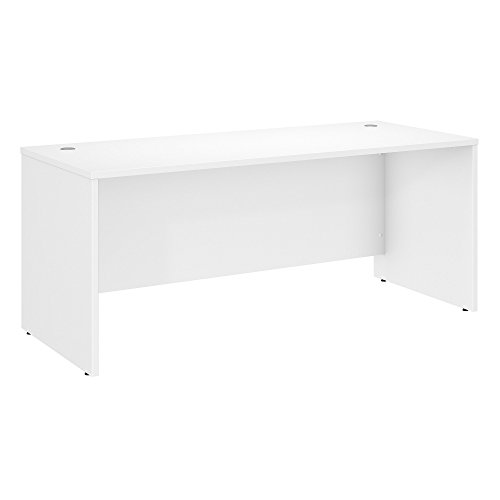 Bush Business Furniture Studio C 72W x 30D Office Desk in White