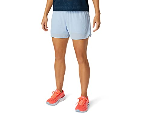 ASICS Women's Ventilate 2-N-1 3.5' Short Running Apparel, M, Mist