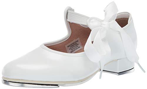 Bloch Girls Dance Annie Tyette Tap Shoe, White, 13 Medium US