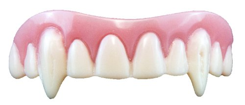 Unbekannt Billy Bob Teeth Vampire Fake False Fangs for Halloween Vampire Dracula Fancy Dress Costumes & Outfits Accessory by Unique Industries