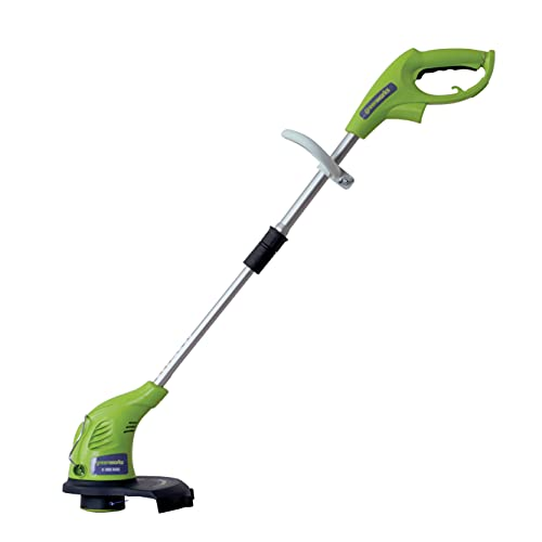 Greenworks 13-Inch 4 Amp Electric Corded String Trimmer 21212