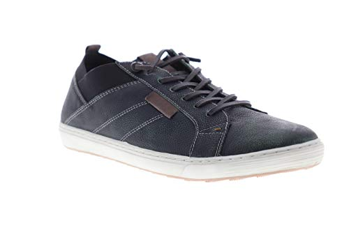 GBX Mens Output Black Casual Fashion Sneakers Shoes 11