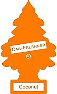 LITTLE TREES Car Air Freshener | Hanging Paper Tree for Home or Car | Coconut | 12 Pack (Packaging May Vary)