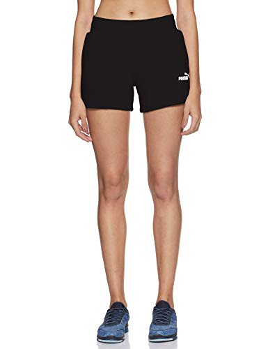 PUMA ESS Sweat Shorts TR Pants, Mujer, Cotton...