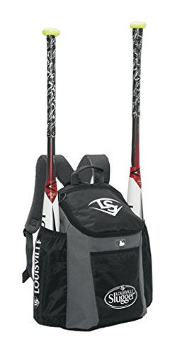 Louisville Slugger EB Series 3 Stick Pack Baseball Equipment Bags, Black