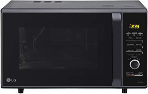 LG 28 L Convection Microwave Oven (MC2886BFUM, Black, 360° Motorised Rotisserie, With Starter Kit)