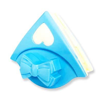 LONG-A Doppel Seite Glas Reinigung Pinsel Magnetische Fenster Reinigung Haushalt Fenster Reinigung Werkzeuge Nützlich Oberfläche Brushs,Blau