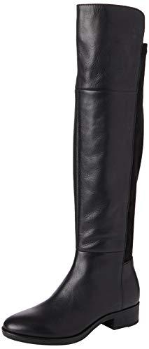 Geox Womens D Felicity I Over-The-Knee Boot, Black, 41 EU