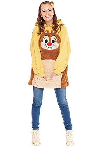 Disney Chip und Chap Dale Overalls Kostuem Damen Kleidlaenge 74cm 95638