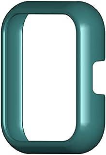 Smartklocka Pc sport skyddande skal skydd lämplig för Realme Watch 2 Pro, mörkgrön