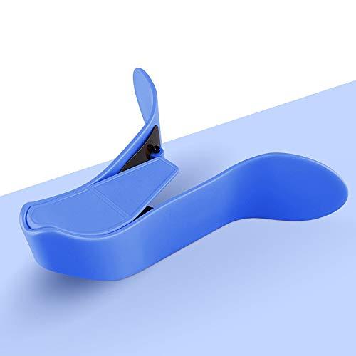 PPuujia Equipo de fitness para mujer, herramienta de entrenamiento para entrenamiento de cadera, piso pélvico, muscular, ejercicio en casa, ejercicio interior de muslos (color: azul no ajustable)