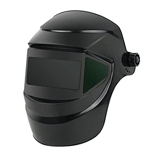 Vista grande Cascos de soldadura de color verdadero MIG TIG Gorra de soldador Sombra Ojos Gafas Protector