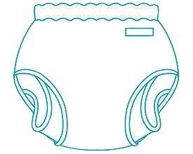 パンツ型おむつカバー/18-11003 Lサイズ