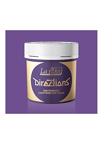 La Riché Directions Farbcreme zum Tönen der Haare, semi-permanent, violet, 1er Pack (1 x 88 ml)