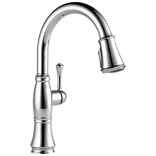 Delta Faucet Cassidy Single-Handle Kitchen Sink Faucet with...