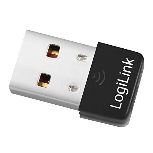 LogiLink WL0084E Wireless-LAN Nano-Adapter (150Mbps, USB 2.0)