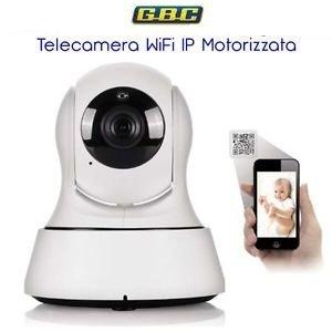 TELECAMERA IP WI-FI/WIRED MOTORIZZATA HD 720P, CON RILEVAMENTO MOTION, AUDIO BIDIREZIONALE, REGISTRAZIONE SU MICRO SD, GESTIBILE DA SMARTPHONE/TABLET/PC.