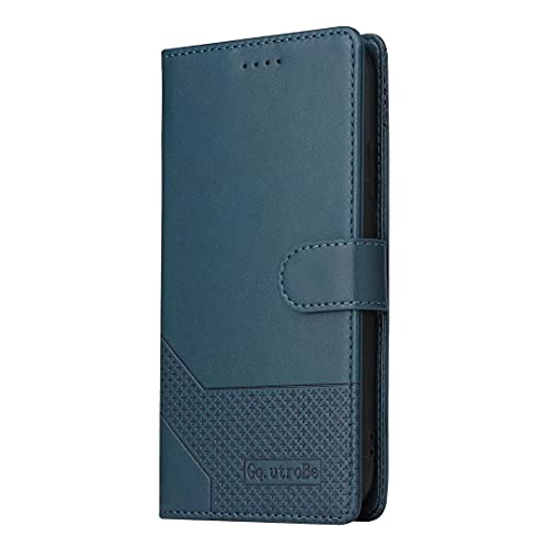 KRjcsfhy Samsung A21S Funda Flip Phone Cover para Samsung Galaxy A21S Funda de Teléfono, Estilo Libro, Protección a prueba de Golpes PU Billetera Ranuras de Tarjeta Imán Hebilla Soporte Función Vista