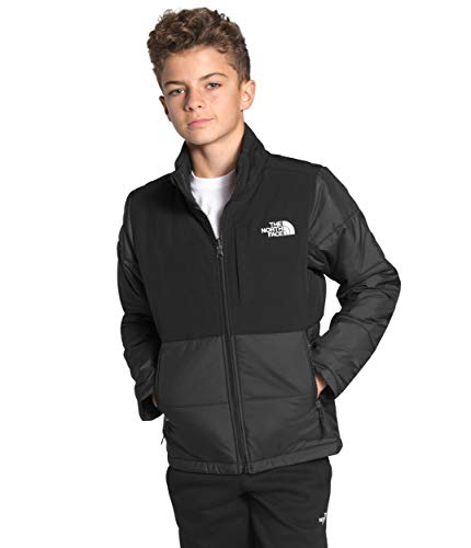 The North Face Youth Balanced Rock Insulated Jacket, TNF Black, XXS