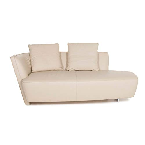 Walter Knoll Drift Leather Sofa Sand Beige Two Seater Couch