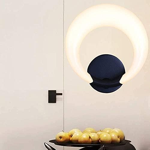 BUSUANZI Lámpara de Noche Minimalista Minimalista Lámpara de Noche, Lámpara de Pared Creativa Nórdica Sala de Estar Pasillo Pasillo Lámpara Dormitorio 25 29.5 (cm) Alta Gusto