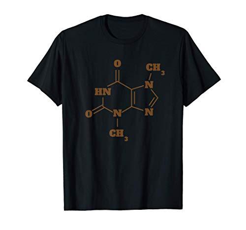 Molecola di cioccolato ispirata alla struttura del cioccolat Maglietta