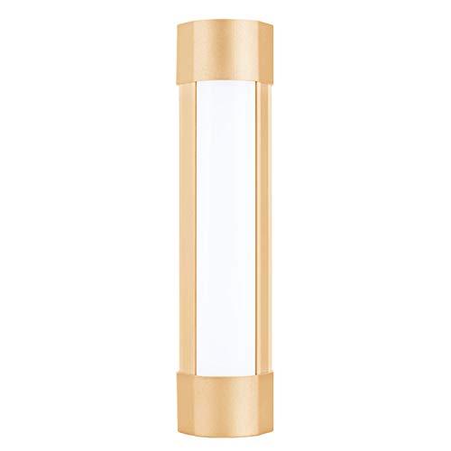 SFGSA Linterna LED de camping resistente al agua, brillante y resistente, para acampar al aire libre, supervivencia de emergencia, color dorado