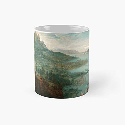 Landscape with The Flight Into Egypt - Taza clásica de Pieter Bruegel Elder con el mejor regalo, tazas de café divertidas, 11 oz