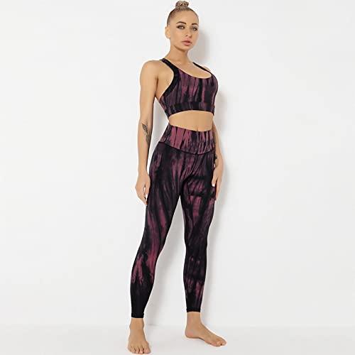 TANQIAN Yoga Wear Yoga Bra Sports Running Tight Suit Women 2XL Light Gray