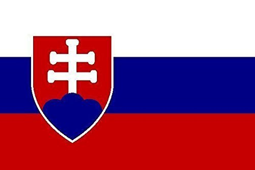 U24 Fahne Flagge Slowakei 60 x 90 cm