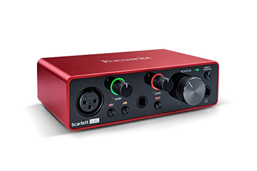 Focusrite Scarlett Solo 3rd Gen - Interfaz de audio USB