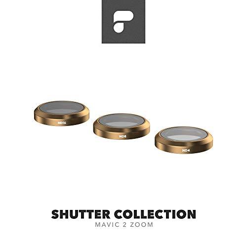 PolarPro Shutter Filter-Kollektion für DJI Mavic 2 Zoom - DJI Mavic 2 Filter (ND4, ND8, ND16)