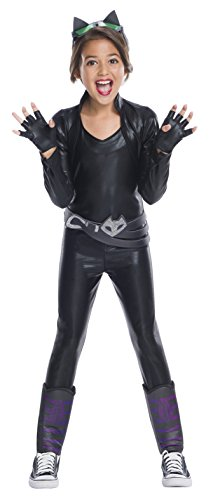 DC Superhero Girls Catwoman Fancy dress costume Large