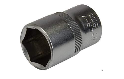 Silverline 637442 Steckschlüsseleinsatz, metrisch, 1/2-Zoll-Antrieb 19 mm