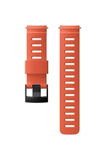 Suunto Dive D5 Cinturino in Silicone di Ricambio, 24 mm, M, Corallo