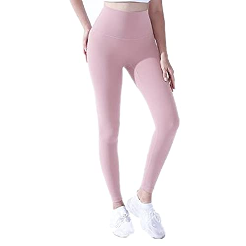 N\P Leggings de yoga para mujer para yoga, rosa, S