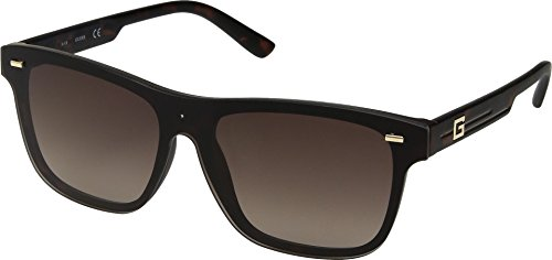 GUESS GF0183 Matte Havana With Gold/Brown Gradient Lens One Size