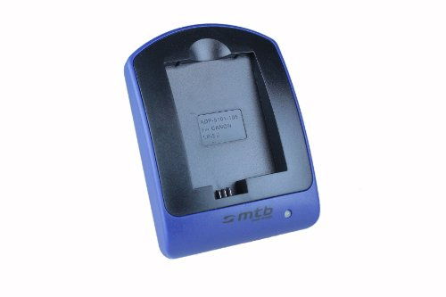 Cargador (Micro-USB, sin Cables/adaptadores) para Canon LP-E5 / EOS 450D, 500D, 1000D / Rebel T1i, XS, Xsi
