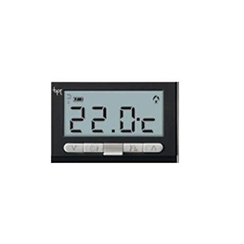 Bpt Came Termostato digitale da incasso TA-350 grigio antracite compatibile Vimar Bticino Gewiss