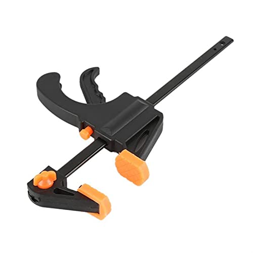 4 pulgadas 1/2/3/4/5PCS Barra de trabajo de carpintería F Set de clip de abrazadera Conjunto de trinquete rápido rápido BRICOLAJE Carpintería Herramienta de mano Gadget de carpintería