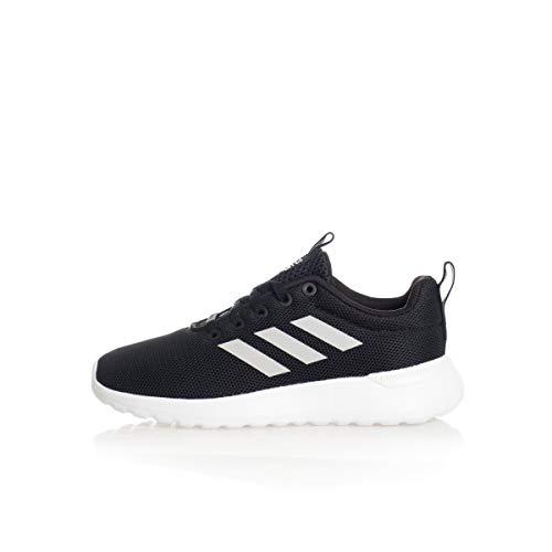 Adidas Lite Racer CLN, Unisex-Kinder Hallenschuhe, Schwarz (Negro 000), 36 2/3 EU