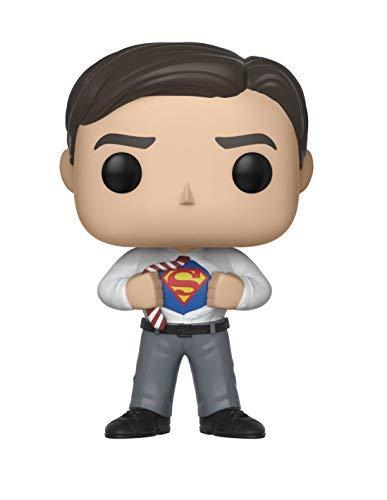 Funko- Pop Vinilo: Smallville: Clark Kent Other License, Multicolor, Standard (30189)