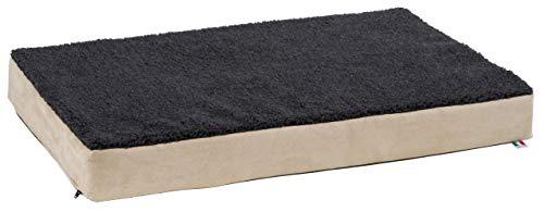 Kerbl 80327 Memory-Foam Matratze, 60 x 100 cm, beige/anthrazit