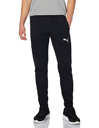 PUMA Herren EVOSTRIPE Pants Jogginghose, Black, M