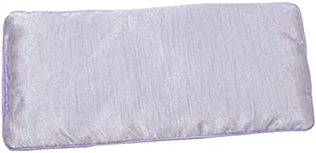 DreamTime Eye Pillow with Lavender Aromatherapy, Natural Herbal Mask, Purple and Brown, Pack of 1