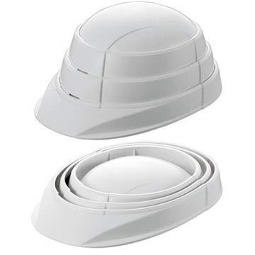 KAGAヘルメット 防災用 折りたたみ ヘルメット OSAMET オサメット 白 2個