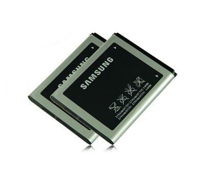 M L Mobiles &®/2 x Akku AB474350BU Original Samsung SGH-/ SGH-D780 G810 i550/SGH -
