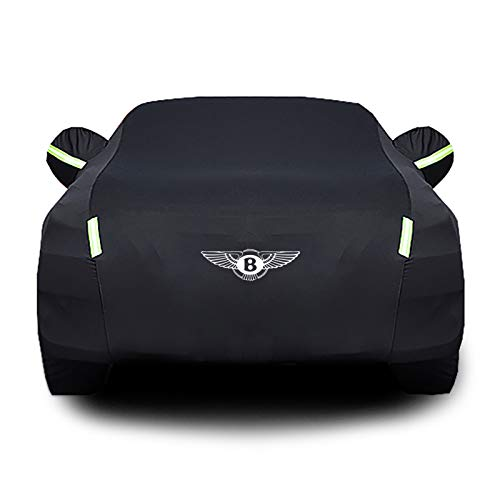 Whitejianpeak Compatible con Bentley Flying Spur Cubierta de Coche, superposición Impermeable, Tapa de Coches de sombrilla de Uso General para Uso en Exteriores en Exteriores