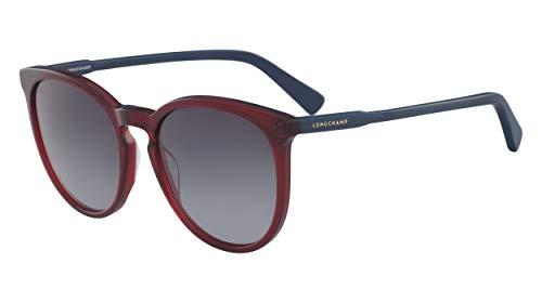 Longchamp LO606S, Acetate Occhiali da Sole Ruby/Petrol Unisex Adulto, Multicolore, Standard