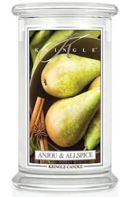 Anjou Allspice Large 2-Wick 22 oz 100 Hour Jar by Kringle Candles